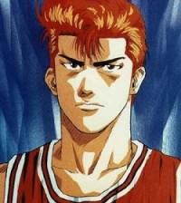 10 - Hanamichi Sakuragi slam dunk