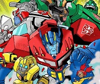 17 transformers anime