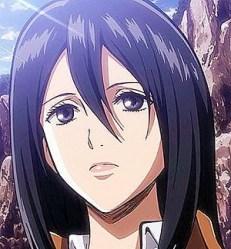 Mikasa Ackerman I 10 personaggi più attraenti di Attack On Titan