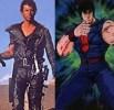 1. Kenshiro e Mel Gibson mad max