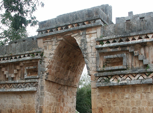 Corbeled Arch