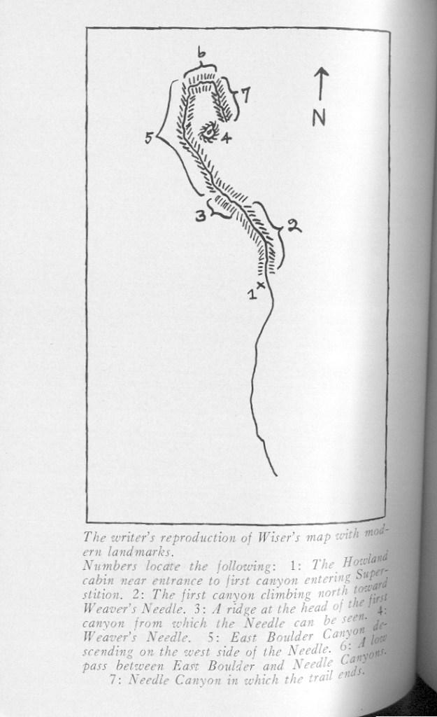 Elizabeth Wiser Howland Map
