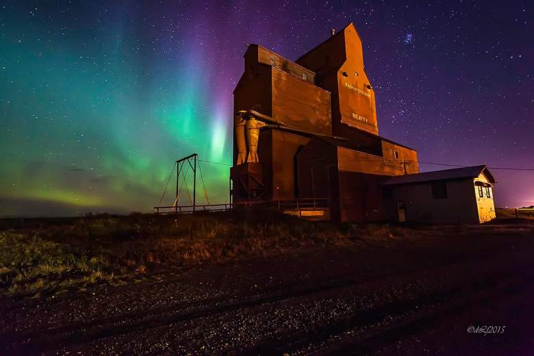 Credit: DL Fannon, taken at Beatty, SK