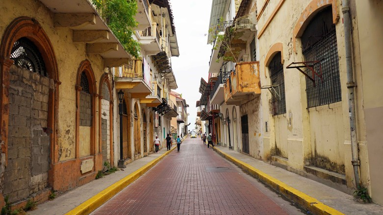 Casco Viejo in Panama City.