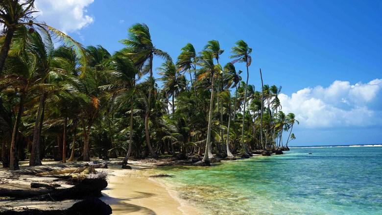 Pristine beaches on Isla Perro