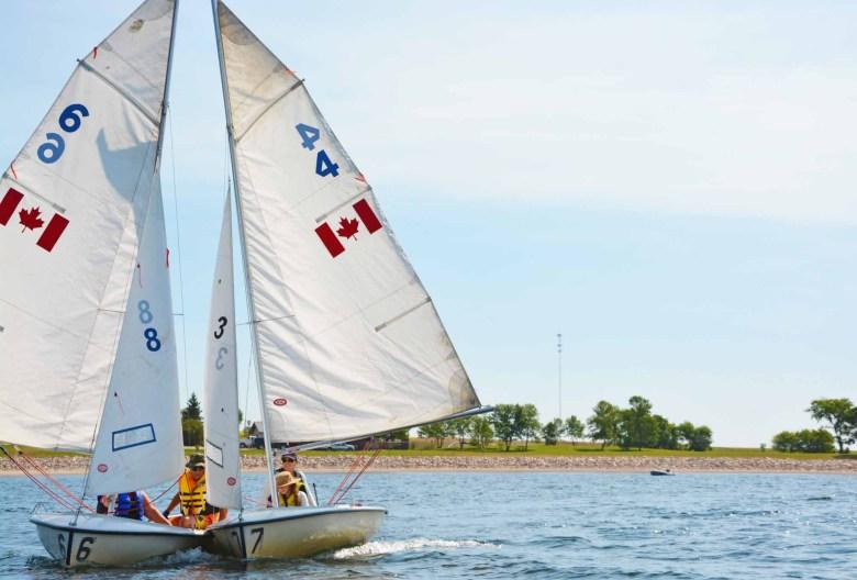 Sailing Saskatchewan