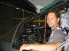 As a special treat, LEFty got a tour of the formidable F-111 aircraft:
