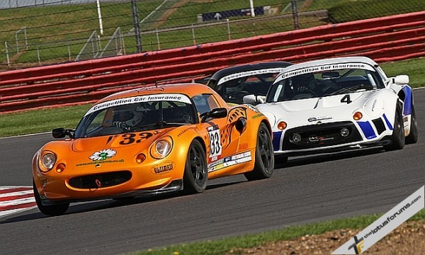 Fulvio Mussi (4) was unbeatable in the Production class at Silverstone this weekend