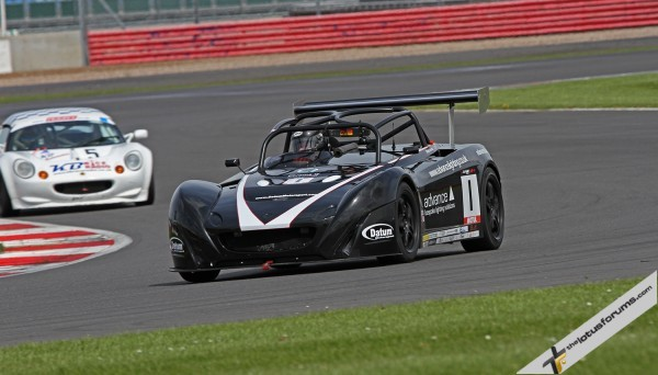 Simon Deacon scored valuable points at Silverstone in the defence of his Lotus Cup UK title