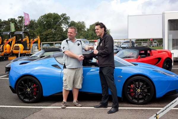TLF pick up the keys from Lotus' Scott Walker