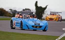 Steve Train won the two-hour Lotus Cup UK night race at Snetterton