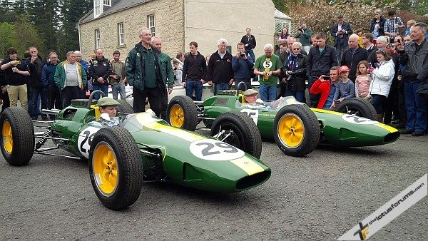 Jim Clark Weekend 2013 Lotus Type 25's Bob Dance