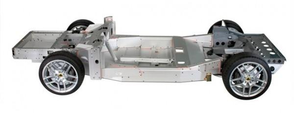 Lotus Evora chassis