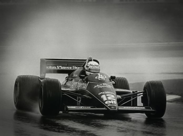 Senna in Lotus 97T