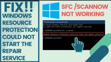 Photo of Windows Resource Protection (Sfc /Scannow) Could Not Start the Repair Service
