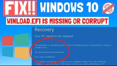 Photo of How to Fix Winload.Efi is Missing or Corrupted