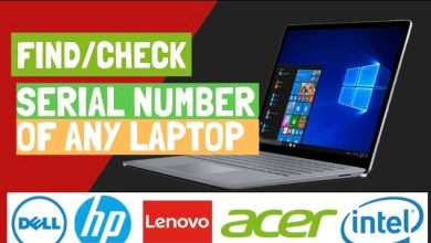 Photo of How to find the Serial number of any Computer/Laptop