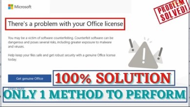 Photo of There is a Problem with your Office License