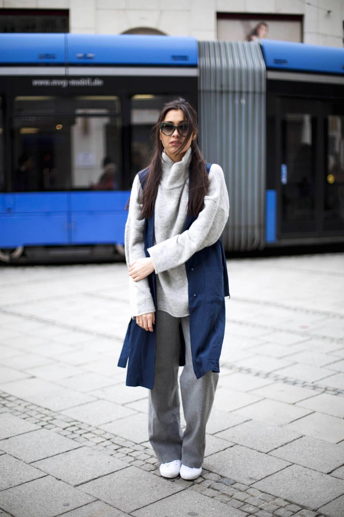 Wide Leg Pants - Palazzo - Wool - Spring - Trends 2016 - Comfy - Casual - OOTD - München - Fashionblog - German Fashionblhgger - Fashionista - Inspiration - Lookbook - Details - Streetstyle - Fashionblog 2016