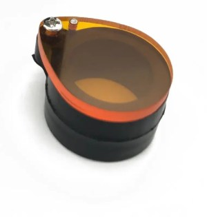 dental loupes light composite orange filter