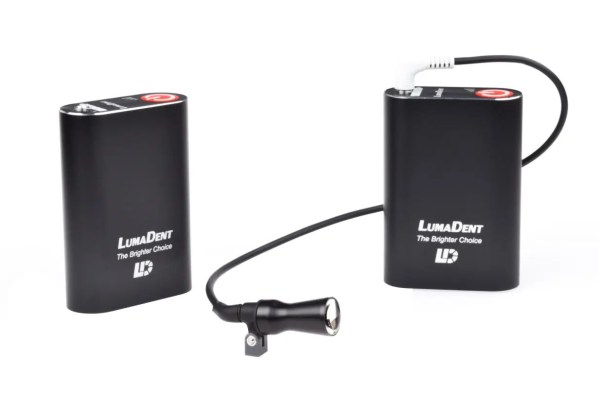 lumadent headlight double battery