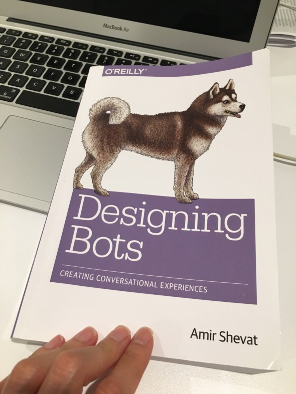 Book about designing chatbots