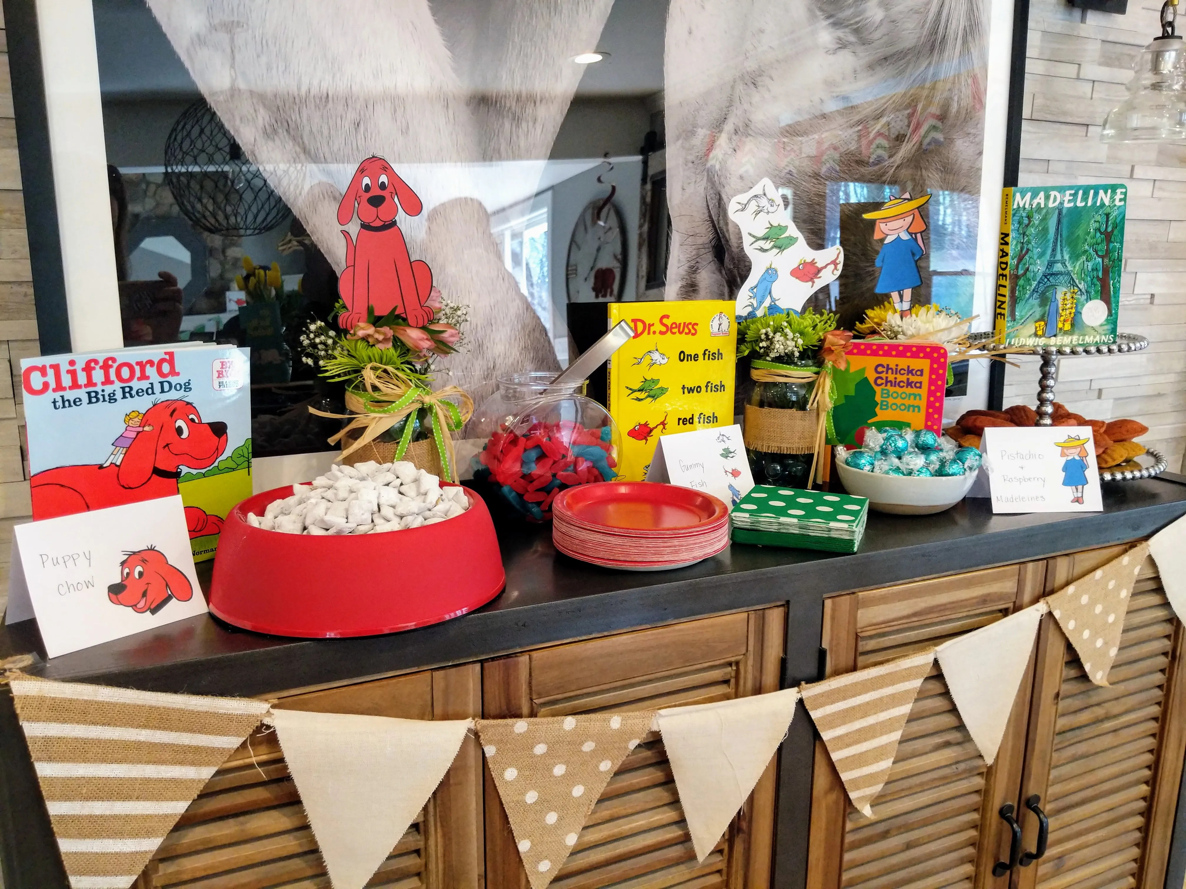 Storybook Themed Baby Shower - The Lovely Lou Lous