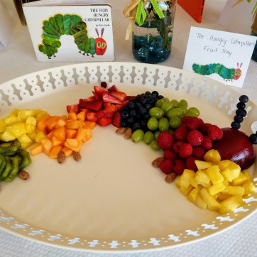 Hungry Caterpillar Fruit Platter