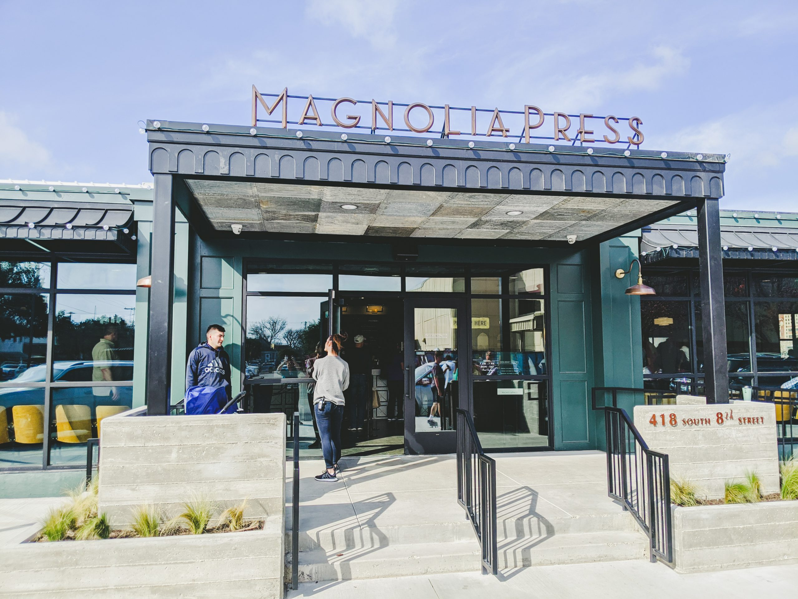 magnolia press coffee co. storefront