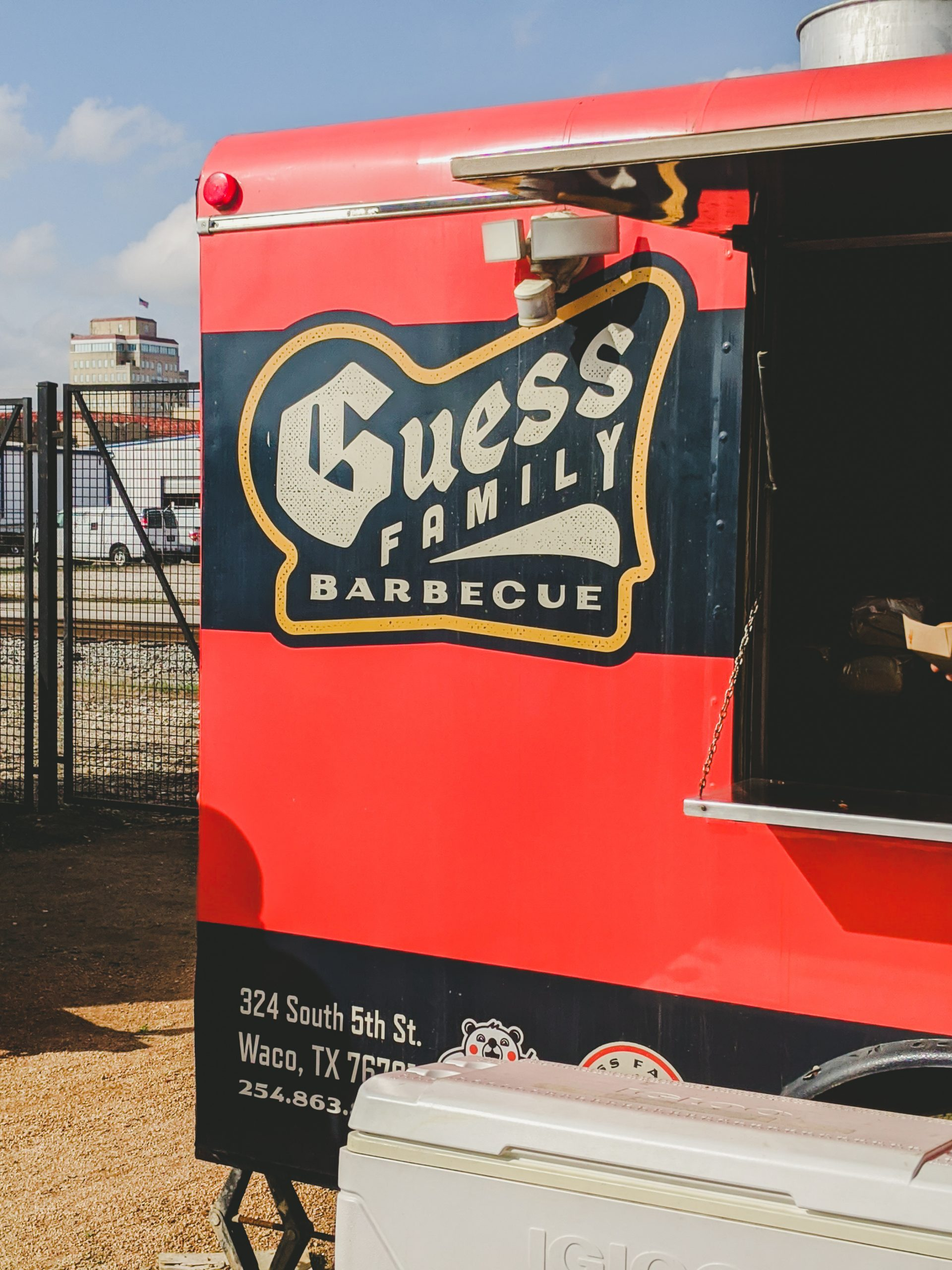 guess family barbecue trailer at magnolia silos