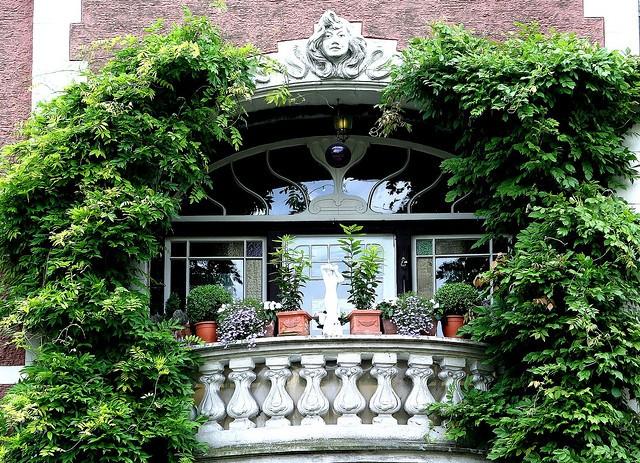 jardim janela varanda