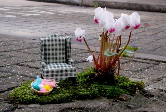 Jardim de Inverno em miniatura