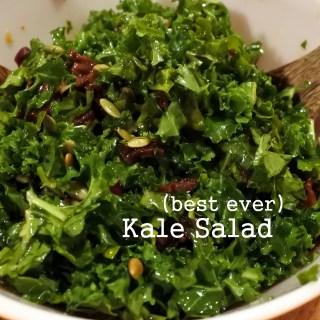 Best Ever Kale Salad