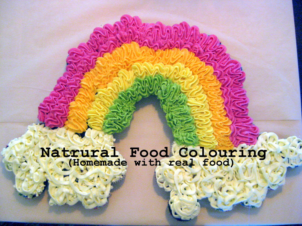 Natural food colouring dye healthy foods cooking with kids L'Oven Life Ottawa