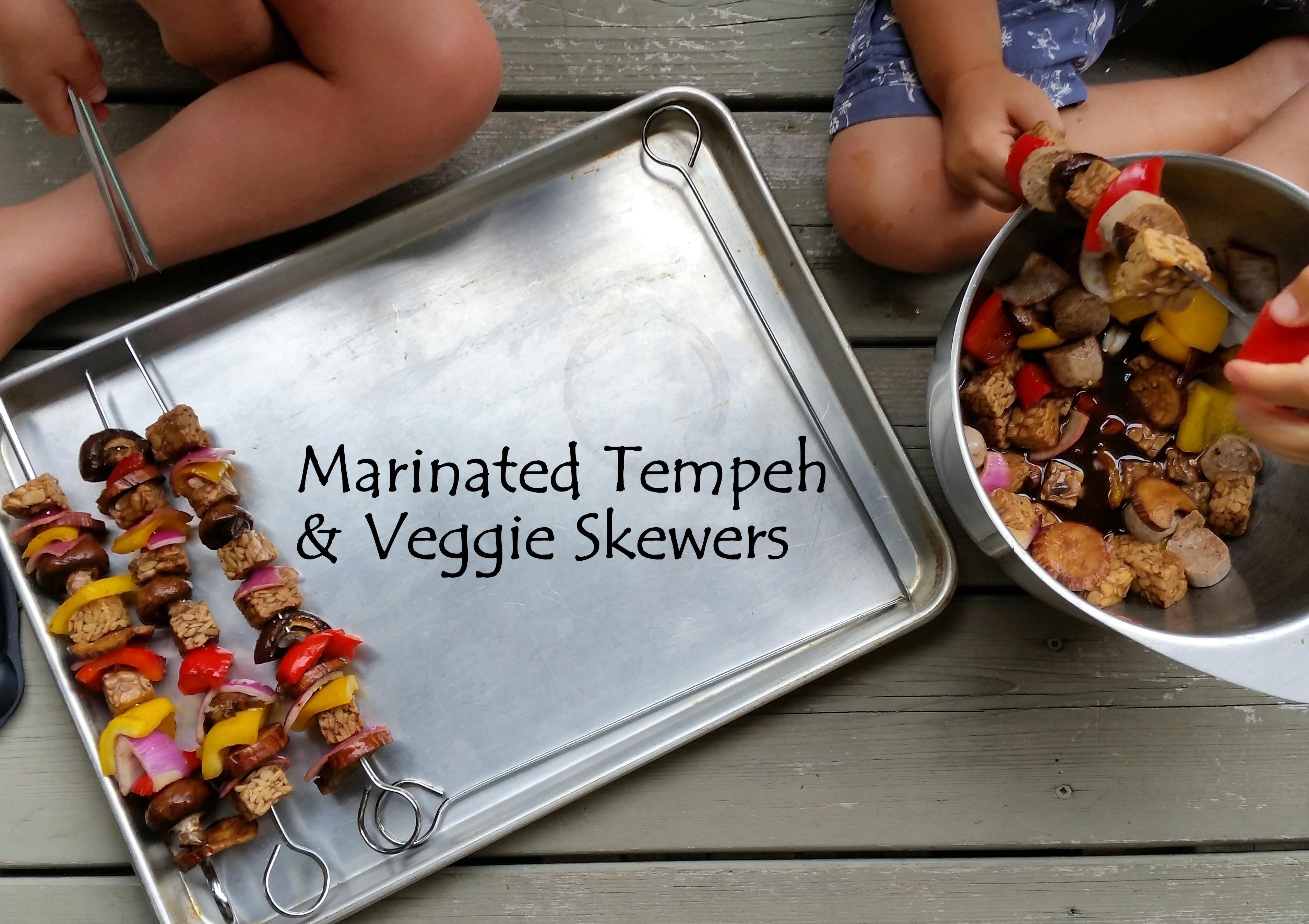 tempeh BBQ marinade healthy eating kids recipe vegetables vegan vegetarian loven life gluten free recipe ottawa