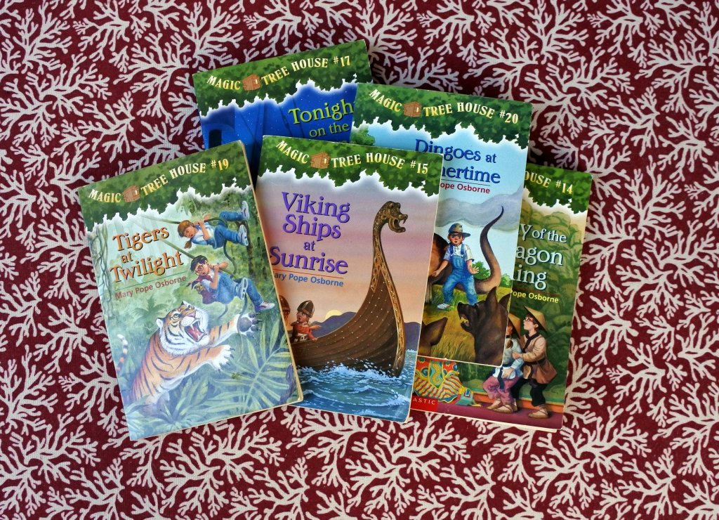 best chapter books for kids recommended reading learning adventure magic tree house books
