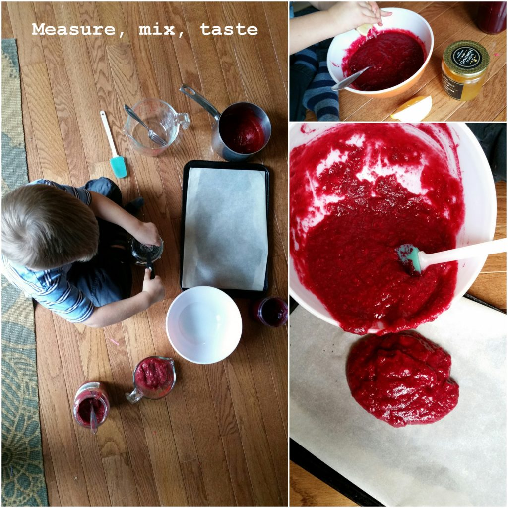 healthy homemade kid snack school lunch fruit roll up beets chia mom blog ottawa foodie recipe