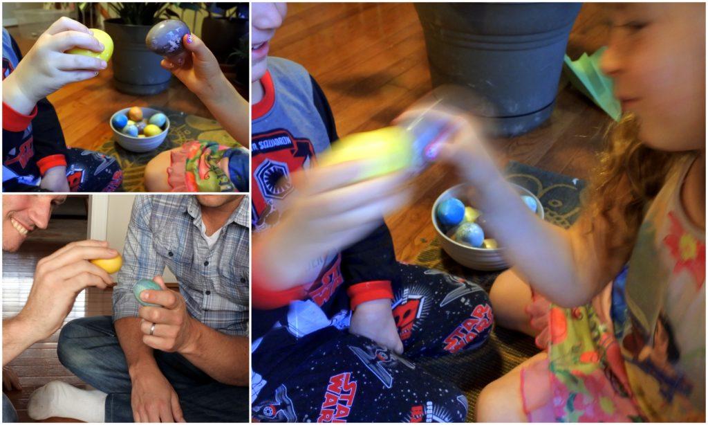 Easter tradition egg smash natural food colour dye healthy Latvian recipe Ottawa mom blog Jackie Lane