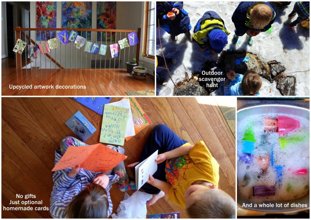 zero waste birthday party baby shower no garbage trash free eco green sustainable jackie lane mom blog ottawa canada