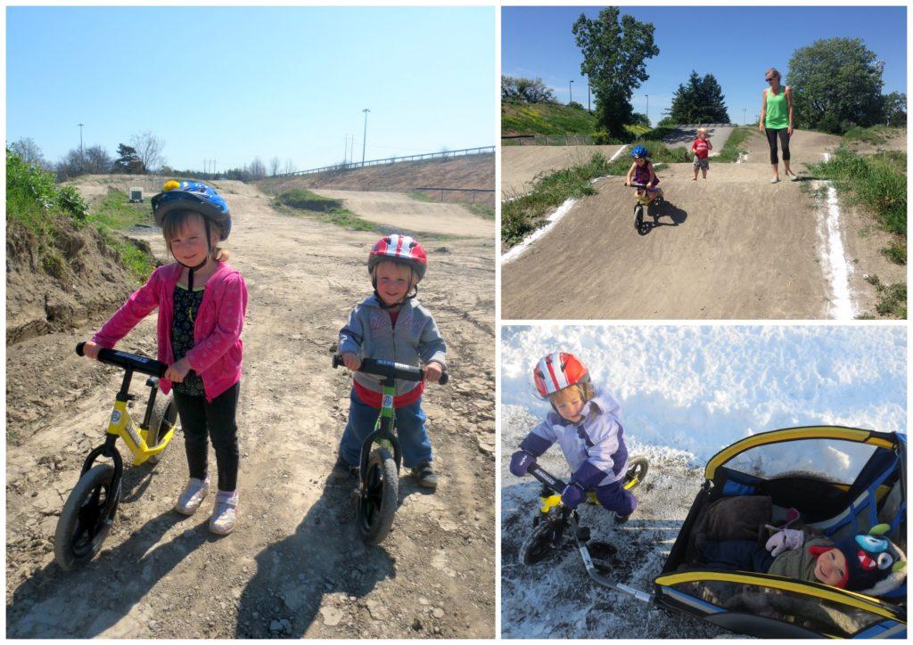 Balance bike Strider kids BMX ottawa canada zero waste mom blog jackie lane no trash toys