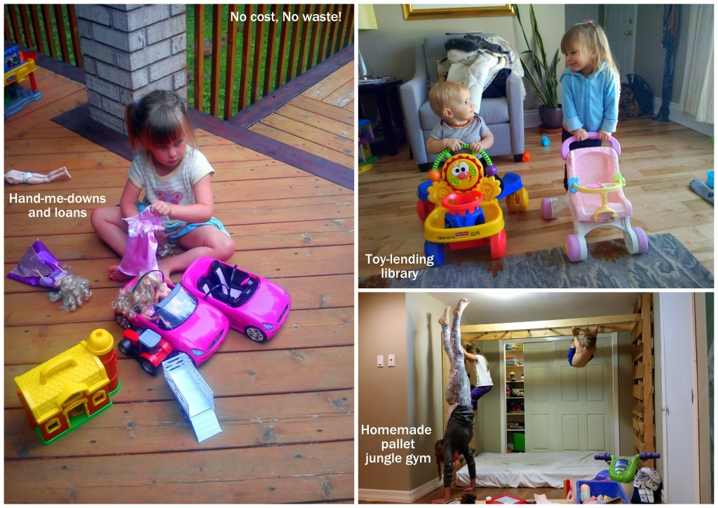 zero waste ottawa canada mom blog toy lending library less stuff kids babies parent junk waste