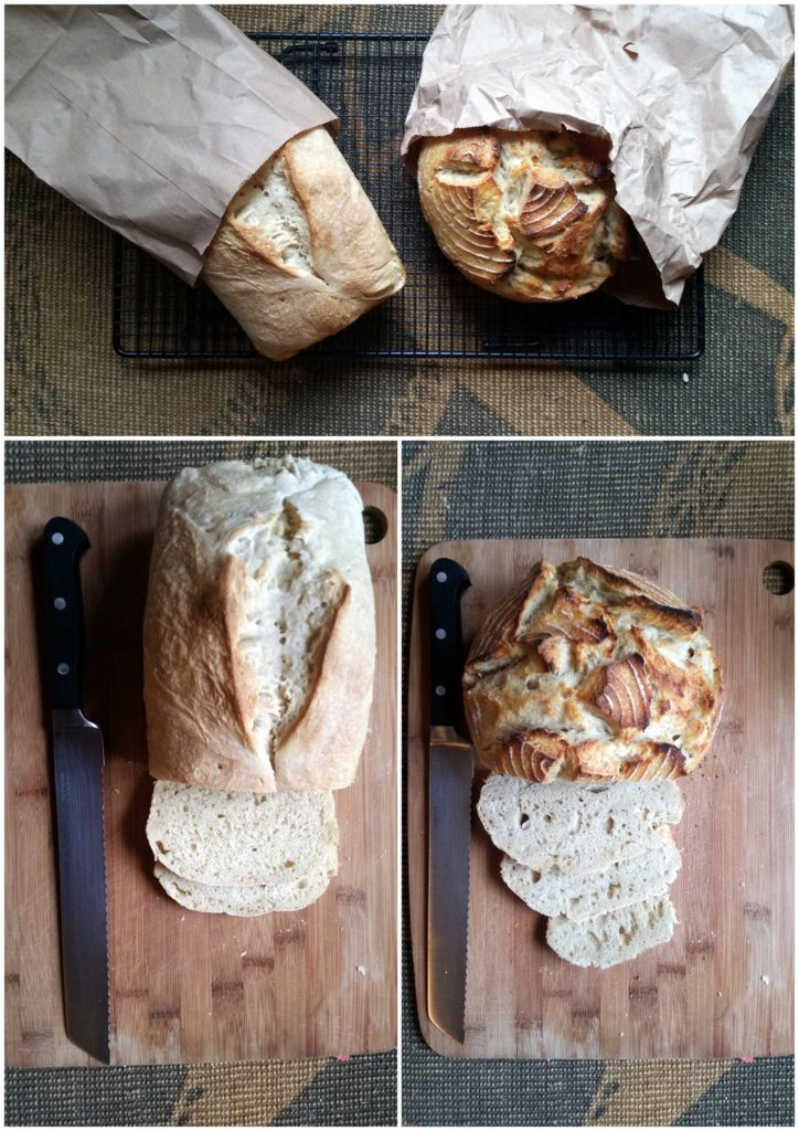 sourdough bread recipe ferment loaf homemade ottawa food blog mom jackie lane rustic starter culture sandwich