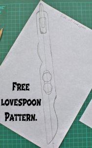 lovespoon pattern side