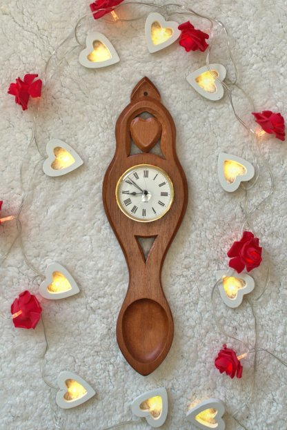 Time is a Precious Gift Lovespoon