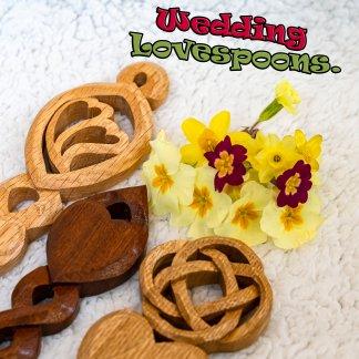 Wedding lovespoons