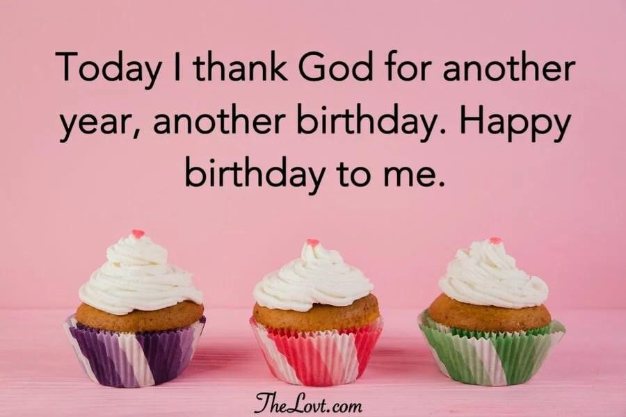 Heartfelt Birthday Wishes For Myself Thelovt