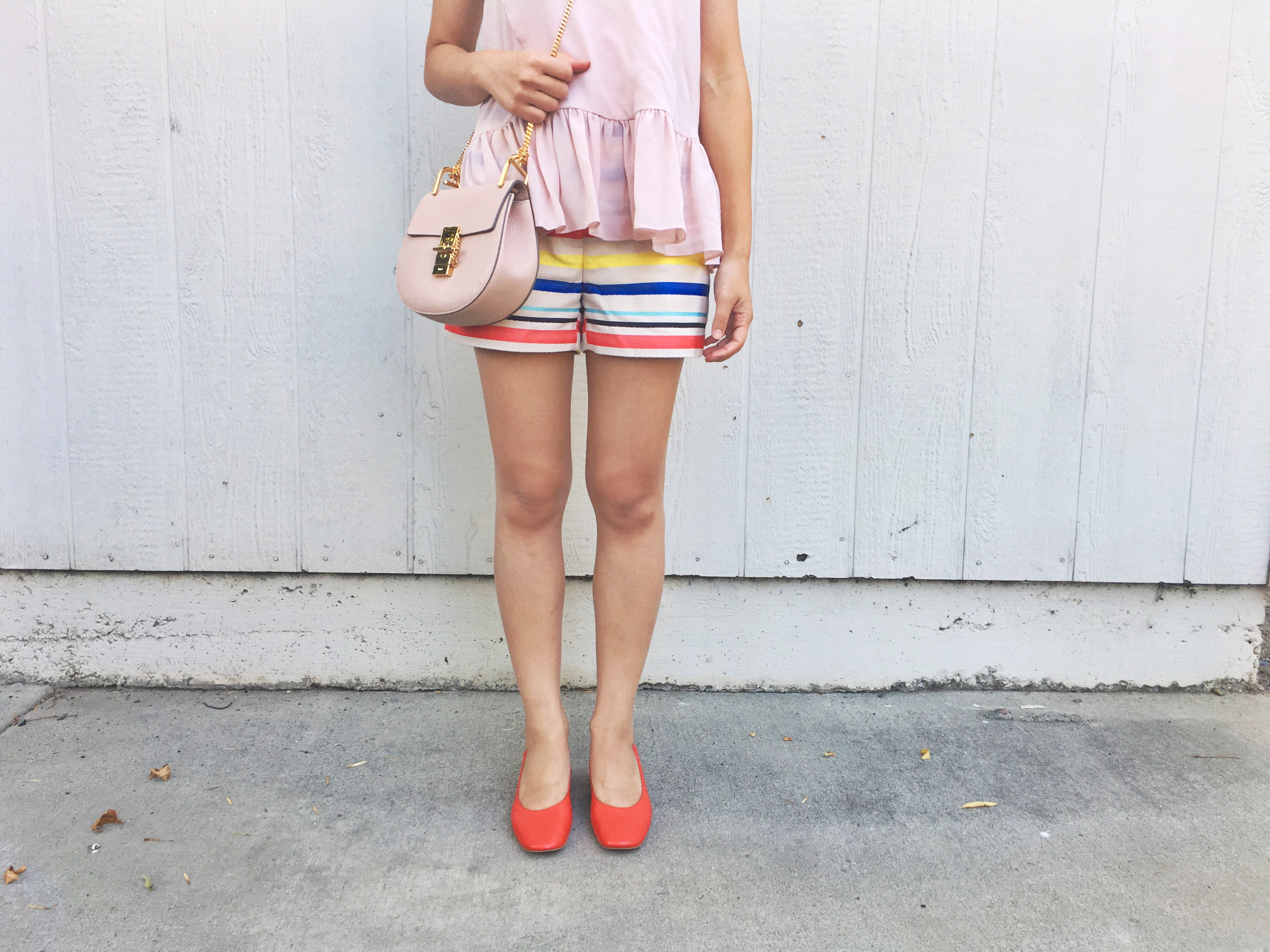 Everlane Day Heel Review (Shorts Outfit) Day 2 of 30