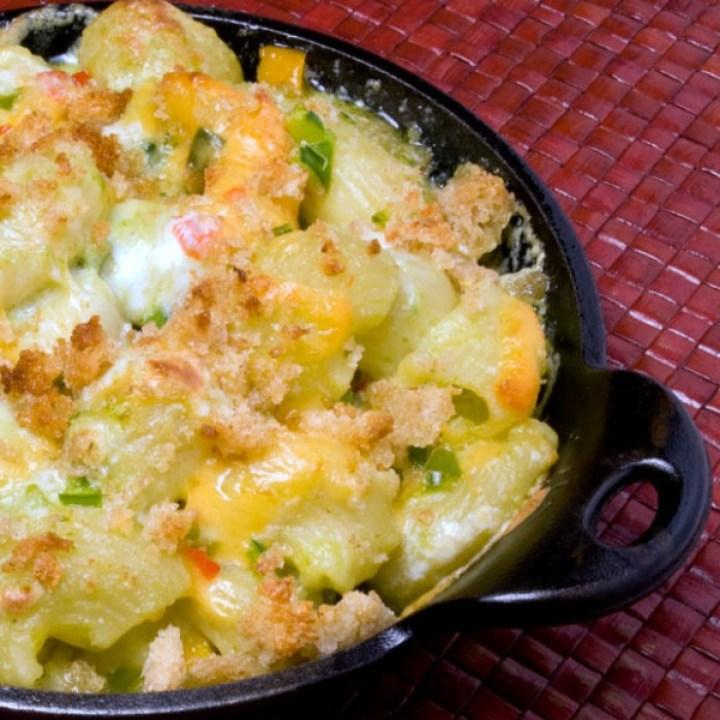 LunaCafe Green Chile Mac & Cheese | LunaCafe
