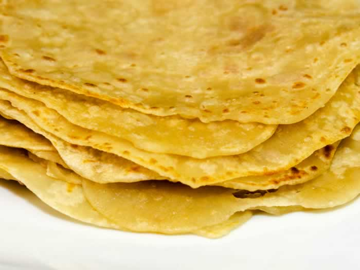 Asian Pancakes Stacked