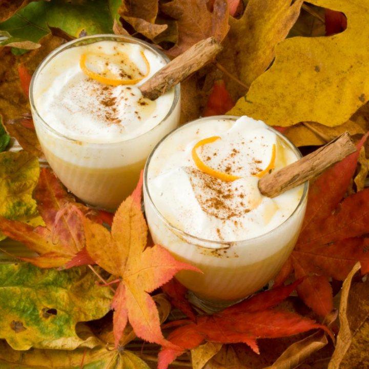 Thanksgiving Recipe Roundup: Pumpkin Spice Hot White Chocolate